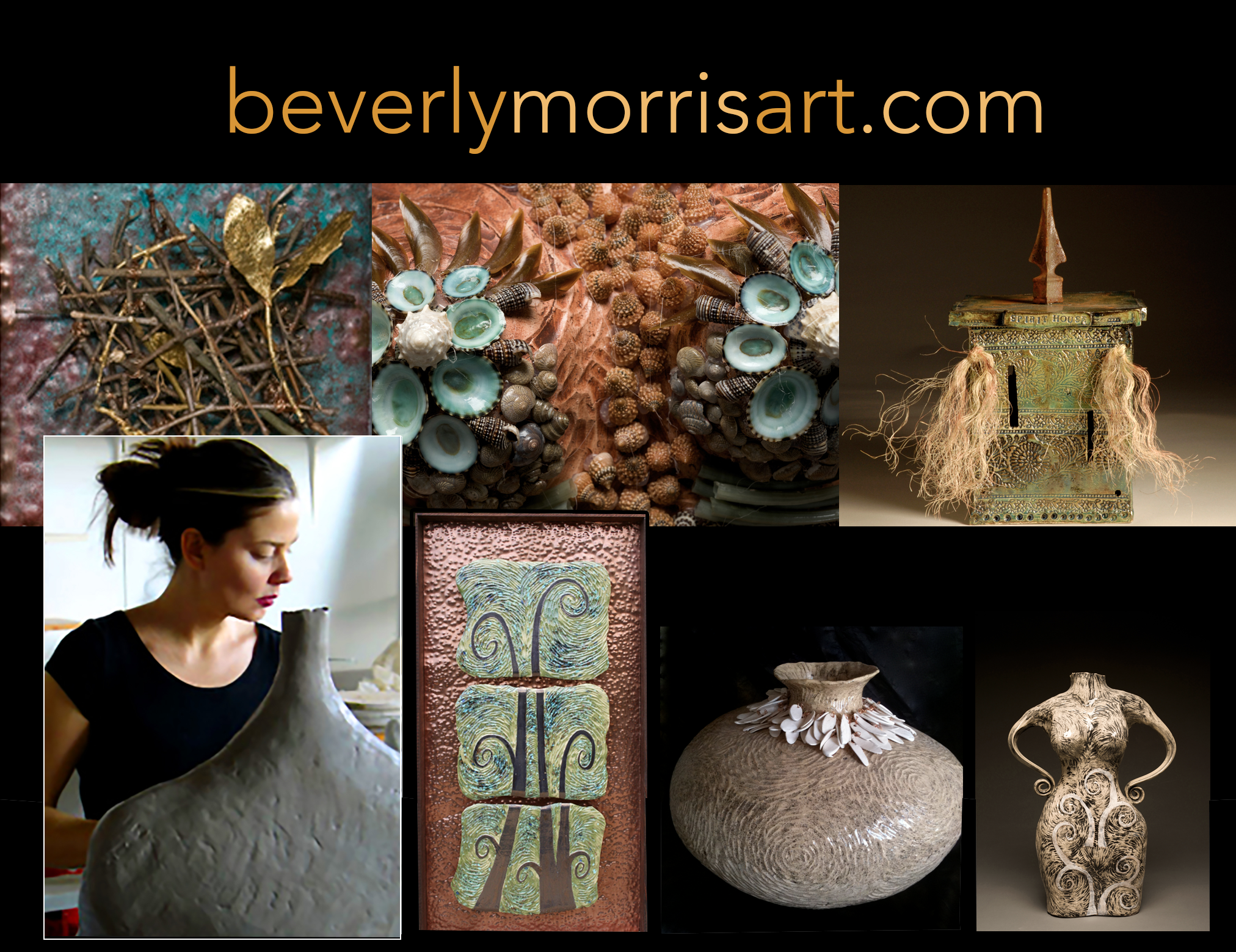 Beverly Morris is a New Orleans ceramic artist